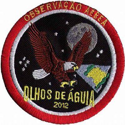 BORDADO PATCHES - OLHOS DE AGUIA 2012 - OBSERVAÇÃO AÉREA