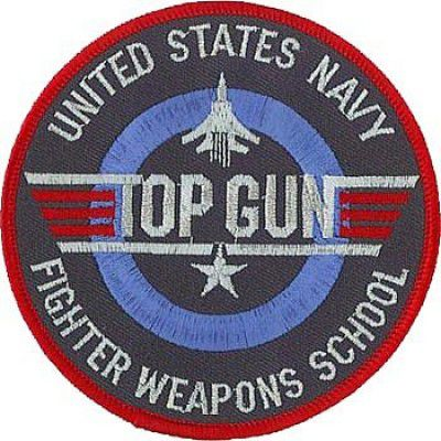 BORDADO PATCHES - TOP GUN