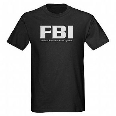 CAMISETA MILITAR - FBI Man