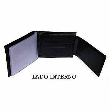 02 CARTEIRA EM COURO - MOD. II - PERSONALIZADA