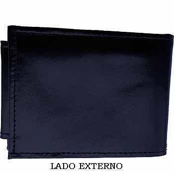 CARTEIRA EM COURO - MOD. III - PERSONALIZADA