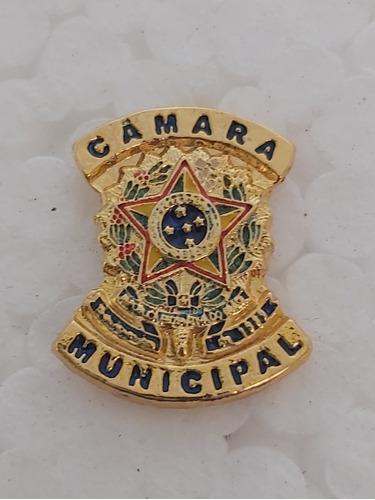 PIN BRASÃO - CÂMARA MUNICIPAL VEREADOR REP