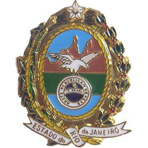 PIN BRASÃO - ESTADO RIO DE JANEIRO