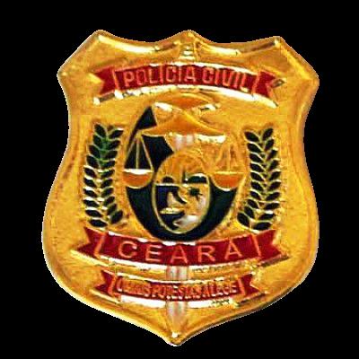 PIN BRASÃO - POLÍCIA CIVIL CEARÁ