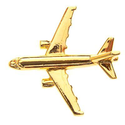 PIN DOURADO AVIÃO - AIRBUS A319 -(1B)