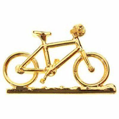 PIN DOURADO - Mountain Bike (17A)