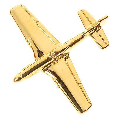 PIN DOURADO - Mustang P-51 - PD (14E)
