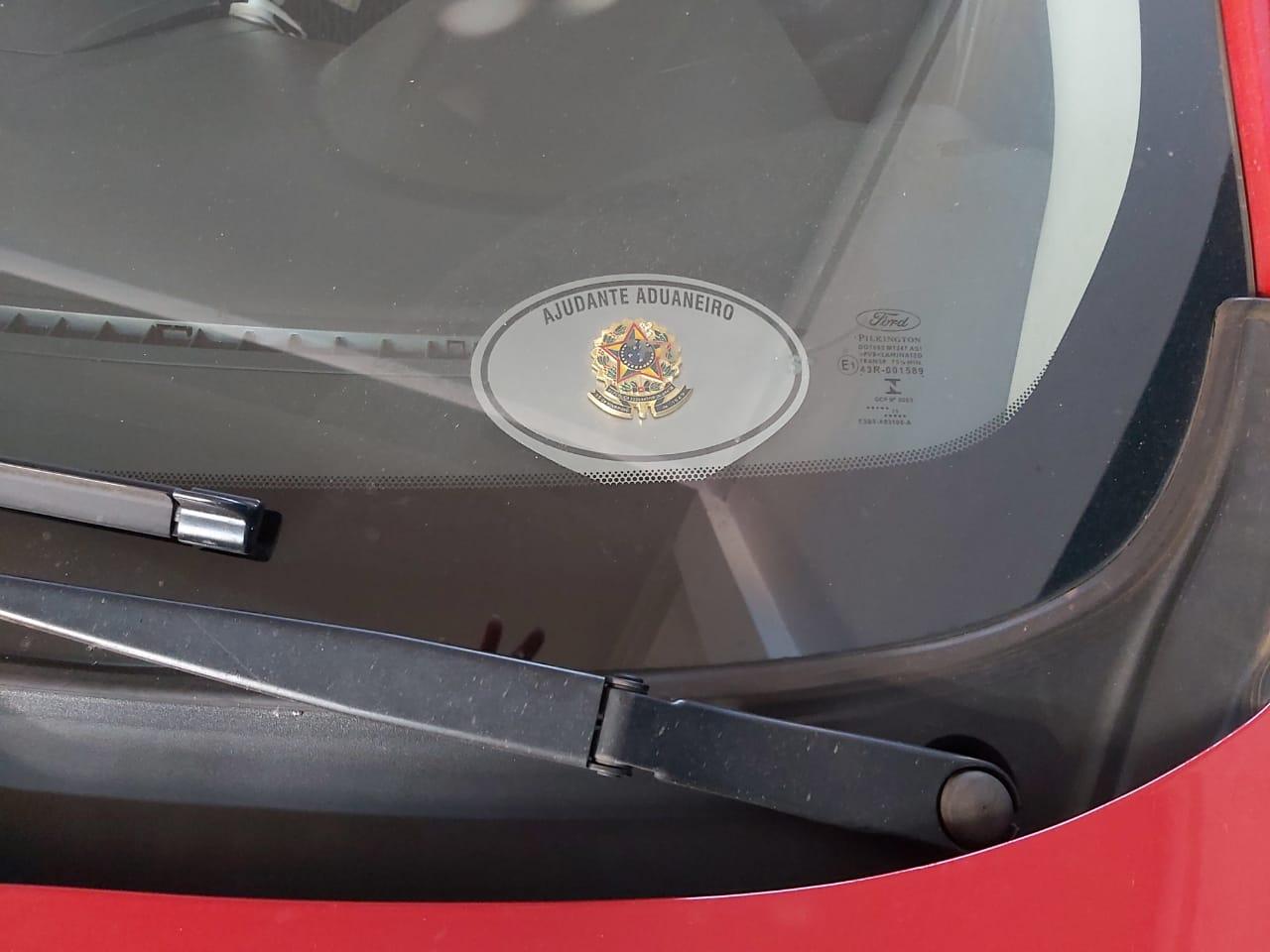 Placa Aço Inox Para Painel De Carro Personalizada