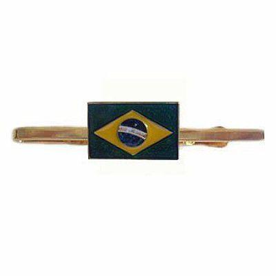 PRENDEDOR DE GRAVATA - BANDEIRA DO BRASIL (51A)