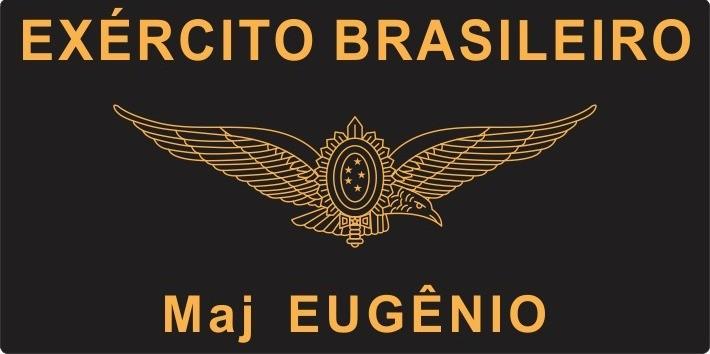TARJETA EM COURO - EXÉRCITO BRASILEIRO