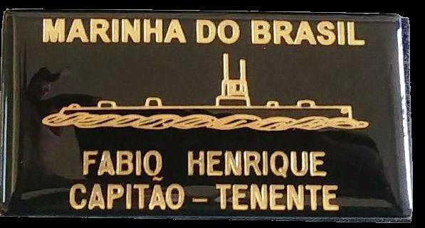TARJETA EM COURO - MARINHA DO BRASIL