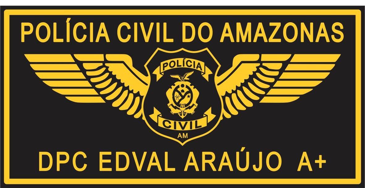 TARJETA EM COURO - POLÍCIA CIVIL