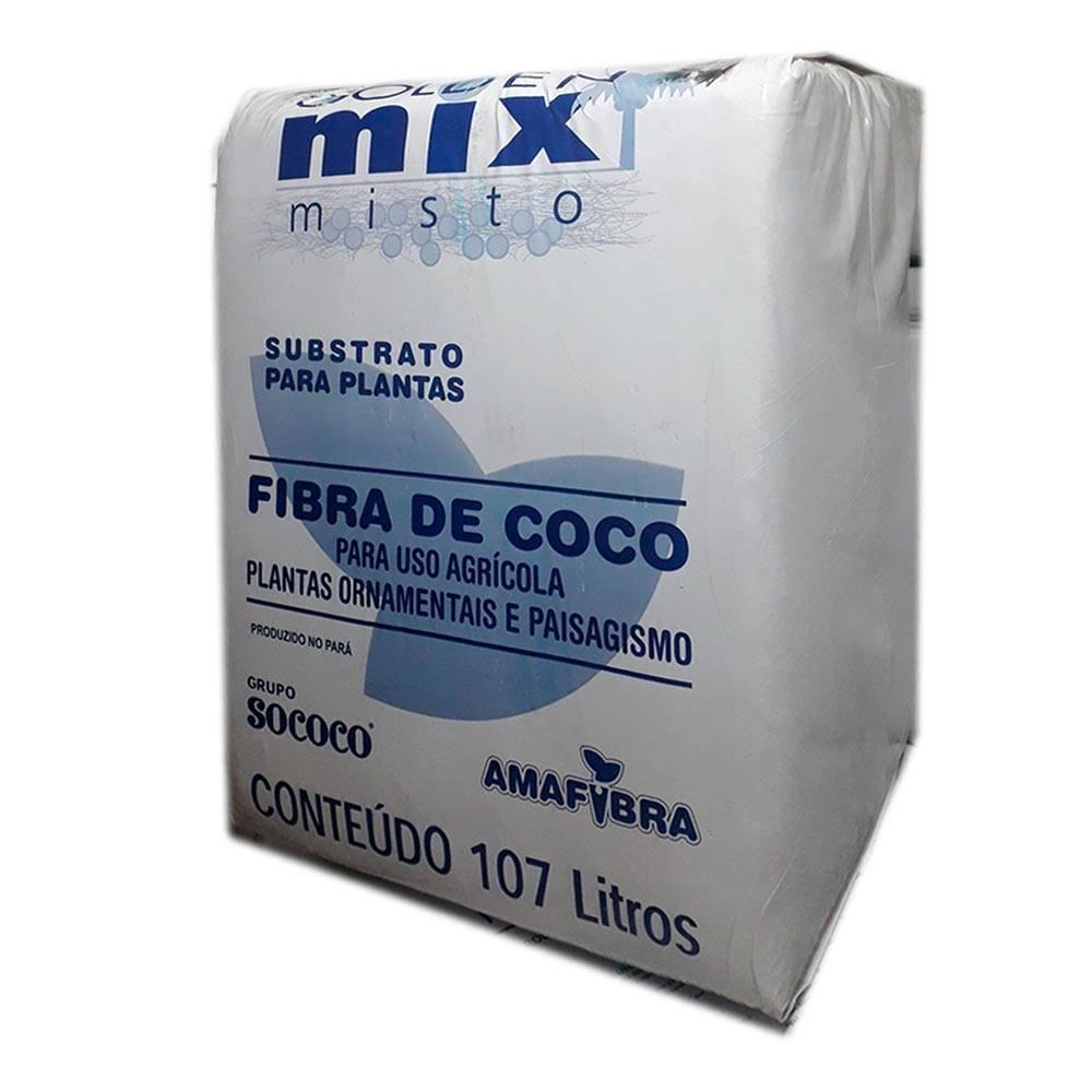 Substrato Fibra de Coco Tipo 90 Misto