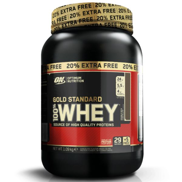 Whey Gold Standard 2.4lbs 1090g - Optimum Nutrition