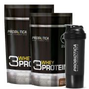 2un 3 Whey Protein 825g - Probiotica