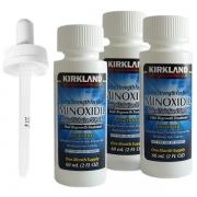 3 Frasco Minoxidil Kirkland 60 ml