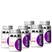 6 x bcaa max titanium 2400 - (60 capsulas )