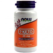 7-Keto 25 mg 90 capsulas Now foods