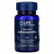 Ashwagandha  125mg 60 capsulas  Life extension