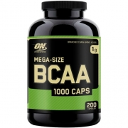 Bcaa 1.000 Mg 200 Capsulas  Optimum Nutrition