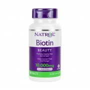 BIOTINA BEAUTY 10,000 mcg (Força máxima) 100 Comprimidos por Natrol