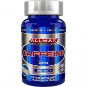 Cafeína Em Cápsula Allmax Caffeine 200mg Importado