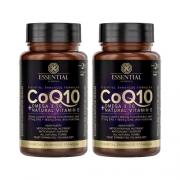 Combo 2 un COQ10 60 capsulas Essential nutrition