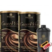 Combo CACAO WHEY 900G - ESSENTIAL NUTRITION