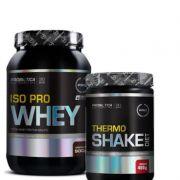 Combo :Iso pro whey isolado 900g  +Thermo shake dieta 400g-Probiotica