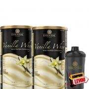 Combo VANILLA WHEY 900G - ESSENTIAL NUTRITION