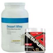 Combo dessert whey ultimate nutrition + betapure adaptogen
