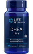 DHEA 15mg (100 caps) - Life Extension