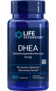 DHEA 25mg - 100Caps - Life Extension