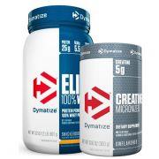 Elite Whey Protein 2lbs + Creatina Micronized 300g - Dymatize Nutrition
