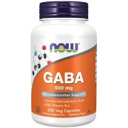 Gaba 500mg -200 capsulas Now Foods