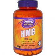 Hmb 500mg 120 Caps - Now Foods