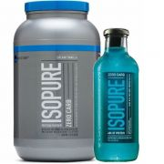 Isopure Zero Carb 3lbs + Isopure Drink 591ml - Nature's Best