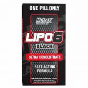 Lipo 6 Black 60 Caps - Nutrex(Formula americana)