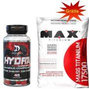 Mass Titanium 1.4kg - Max Titanium + Hydra 45 Caps - Dragon Pharma