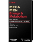 Mega men energy and metabolism 90 caps GNC
