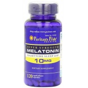 Melatonin 10 mg-120 capsulas Puritan's Pride
