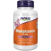 Melatonina 5mg 180 capsulas now foods
