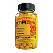 Methyldrene 25 ephedrina 100 capsulas -Cloma Pharma