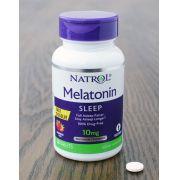 Natrol, Melatonina, sono avançado, liberação prolongada, 10 mg, 60 tablets