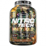 Nitrotech 100% Whey Gold muscletech 2,51kg