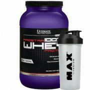 Prostar 100% Whey Protein 2lbs + Coqueteleira - Ultimate Nutrition