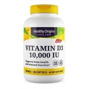 Vitamina D3 10.000IU 360 softgels Healthy Origins