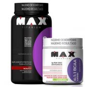 Whey Blend 900g + BCAA 4:1:1 Drink 280g - Max Titanium