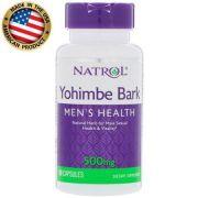 Yohimbe Bark 500 mg Natrol 90 Cápsulas