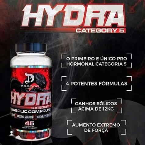 2 unidades :Hydra 45 Caps - Dragon Pharma